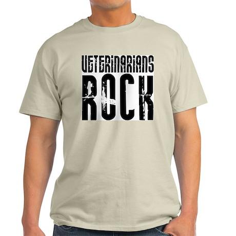 Veterinarians Rock Ash Grey T-Shirt