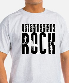 Veterinarians Rock Ash Grey T-Shirt