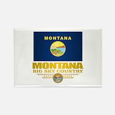 Montana Pride Rectangle Magnet