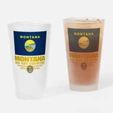 Montana Pride Drinking Glass