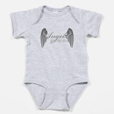 Angels Got My Back Baby Bodysuit