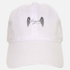 Angels Got My Back Baseball Baseball Baseball Cap