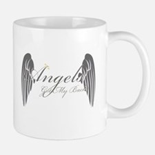 Angels Got My Back Small Small Mug