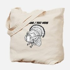 Custom Turkey Sketch Tote Bag