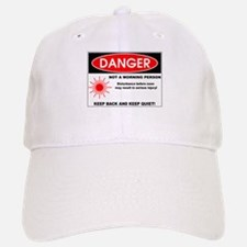 Danger: Not a Morning Person Baseball Baseball Cap