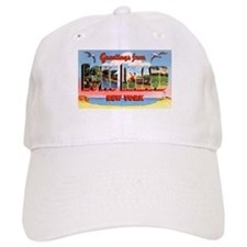 Long Island New York Greetings Baseball Cap