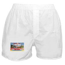 Long Island New York Greetings Boxer Shorts