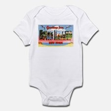 Long Island New York Greetings Infant Bodysuit