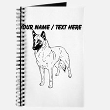 Custom German Shepherd Sketch Journal