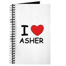 I love Asher Journal