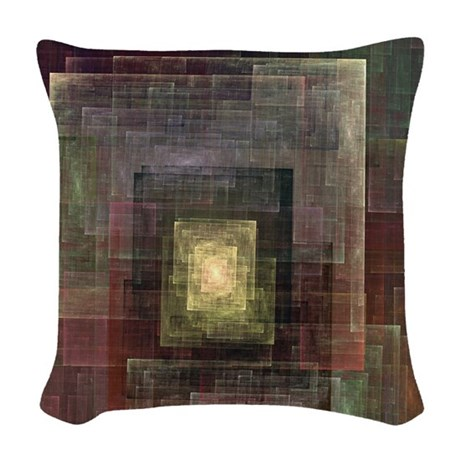 Alternate Dimensions Woven Throw Pillow by stircrazy