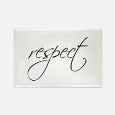RESPECT - Rectangle Magnet