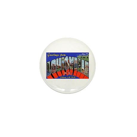 Louisville Kentucky Greetings Mini Button (10 pack