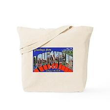 Louisville Kentucky Greetings Tote Bag