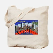 Louisville Kentucky Greetings Tote Bag