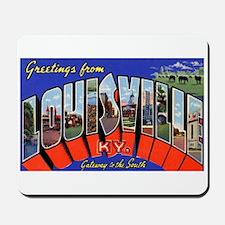 Louisville Kentucky Greetings Mousepad