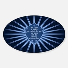 Psalm 3:3 Shield Decal