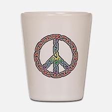 Alternate Peaces Shot Glass