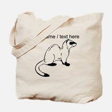 Custom Otter Sketch Tote Bag