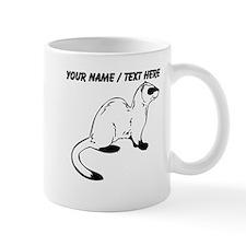 Custom Otter Sketch Mug