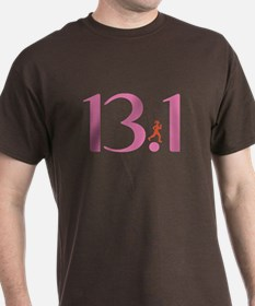 13.1 Half Marathon Runner Girl T-Shirt