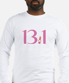 13.1 Half Marathon Runner Girl Long Sleeve T-Shirt