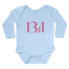 13.1 Half Marathon Runner Girl Long Sleeve Infant