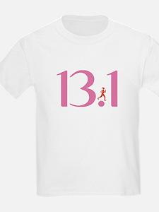13.1 Half Marathon Runner Girl T-Shirt