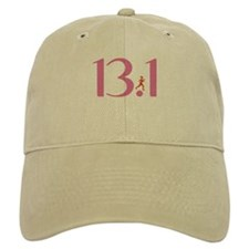 13.1 Half Marathon Runner Girl Hat