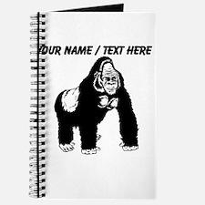 Custom Gorilla Sketch Journal