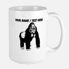 Custom Gorilla Sketch Mug