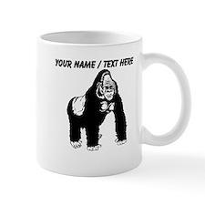 Custom Gorilla Sketch Mug