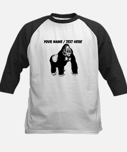 Custom Gorilla Sketch Baseball Jersey