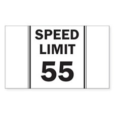 Speed Limit Decal