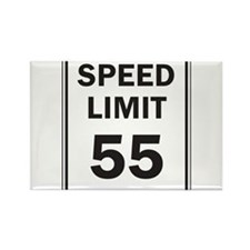 Speed Limit Rectangle Magnet