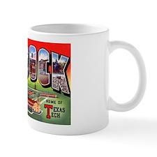 Lubbock Texas Greetings Mug