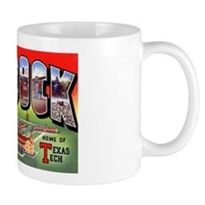 Lubbock Texas Greetings Mug