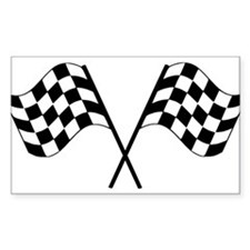 Checked Flags Decal
