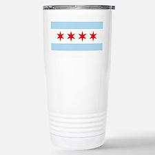 Chicago Flag Travel Mug