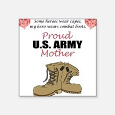Proud US Army Mother Rectangle Sticker