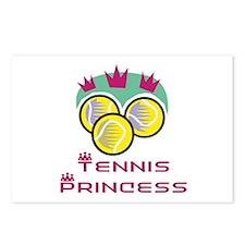 Tennis Princess Postcards (Package of 8)