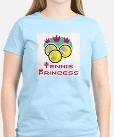 Tennis Princess Women's Pink T-Shirt