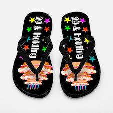 BIRTHDAY DIVA Flip Flops