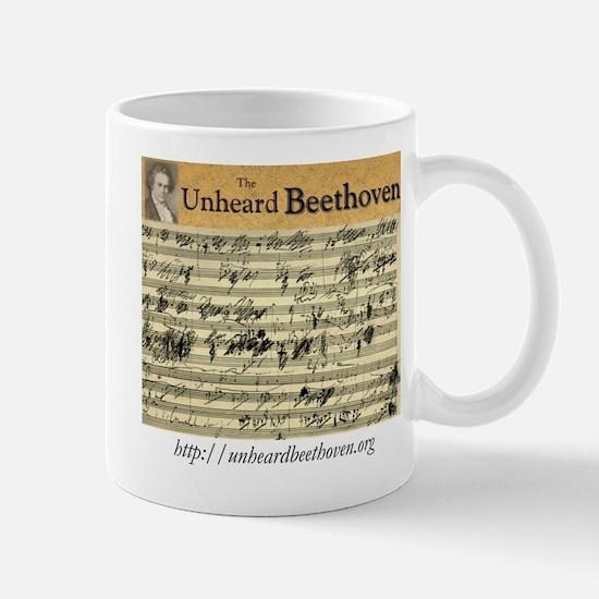 The Unheard Beethoven Sketch Logo Mug