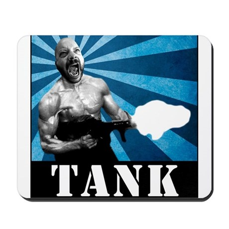 Tank Bookman, Circa 1991 Mousepad