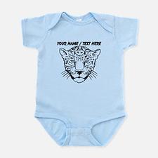 Custom Cheetah Face Sketch Body Suit