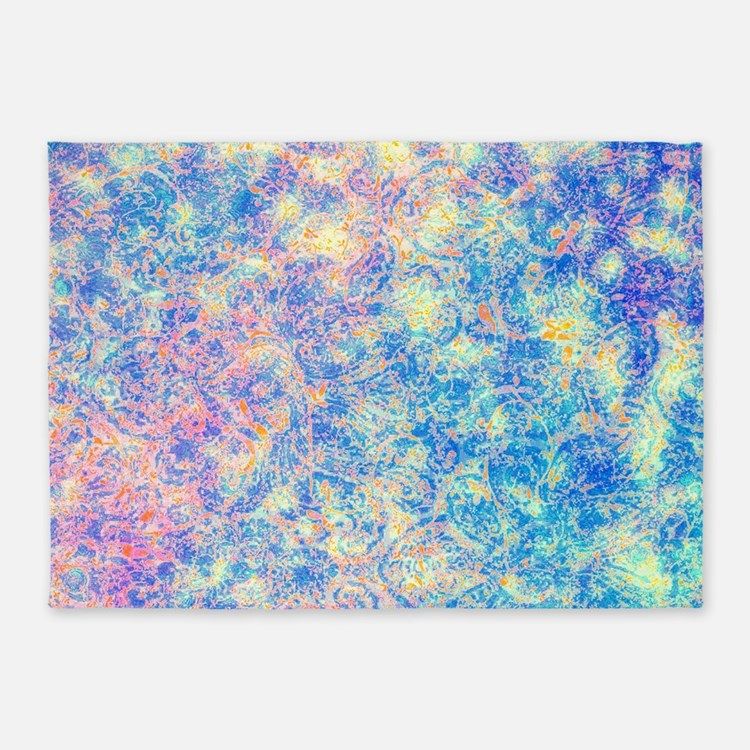 Pink Blue Paisley Rugs, Pink Blue Paisley Area Rugs