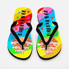 BIRTHDAY BABE Flip Flops