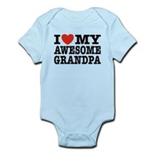 I Love My Awesome Grandpa Infant Bodysuit