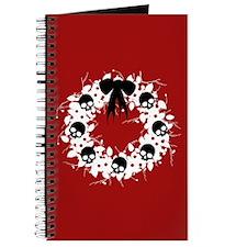 Gothic Christmas Wreath Journal